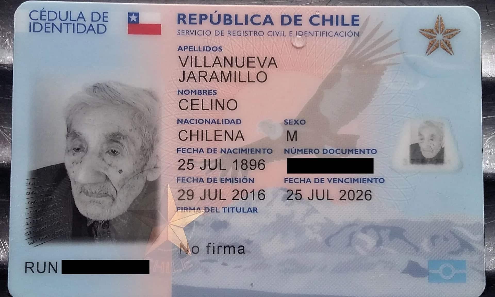 Chileno se prepara para entrar al récord Guinness como el más viejo del mundo