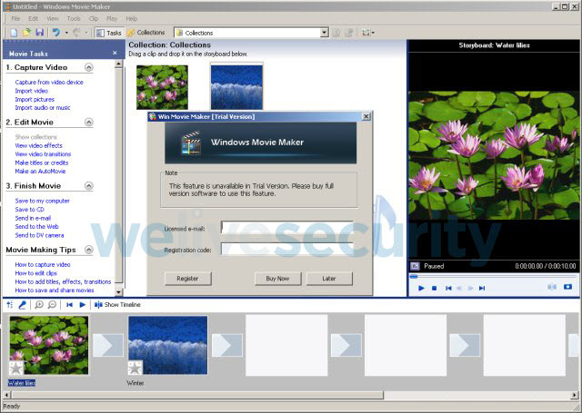 Crean falsa versión del clásico Windows Movie Maker para estafarte