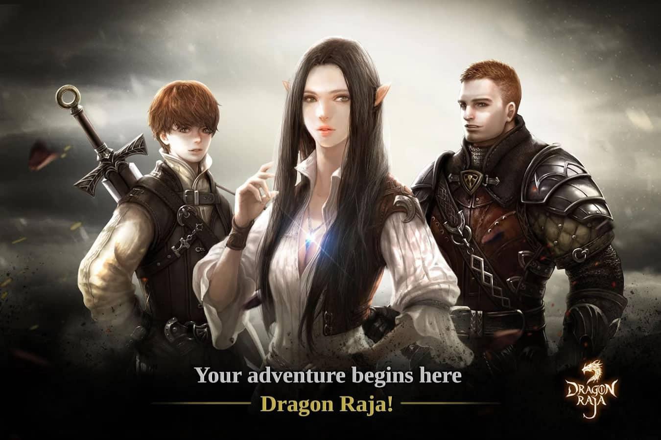 Dragon Raja, el 'Harry Potter' coreano, llegó con videojuego para celulares