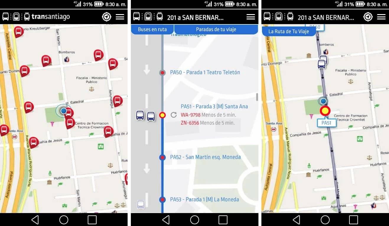 Porque una no es ninguna: crean otra App más del Transantiago (oficial)