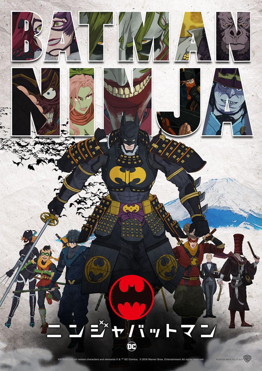 El nuevo tráiler de Batman Ninja es tan bueno que deja mal al Batman real