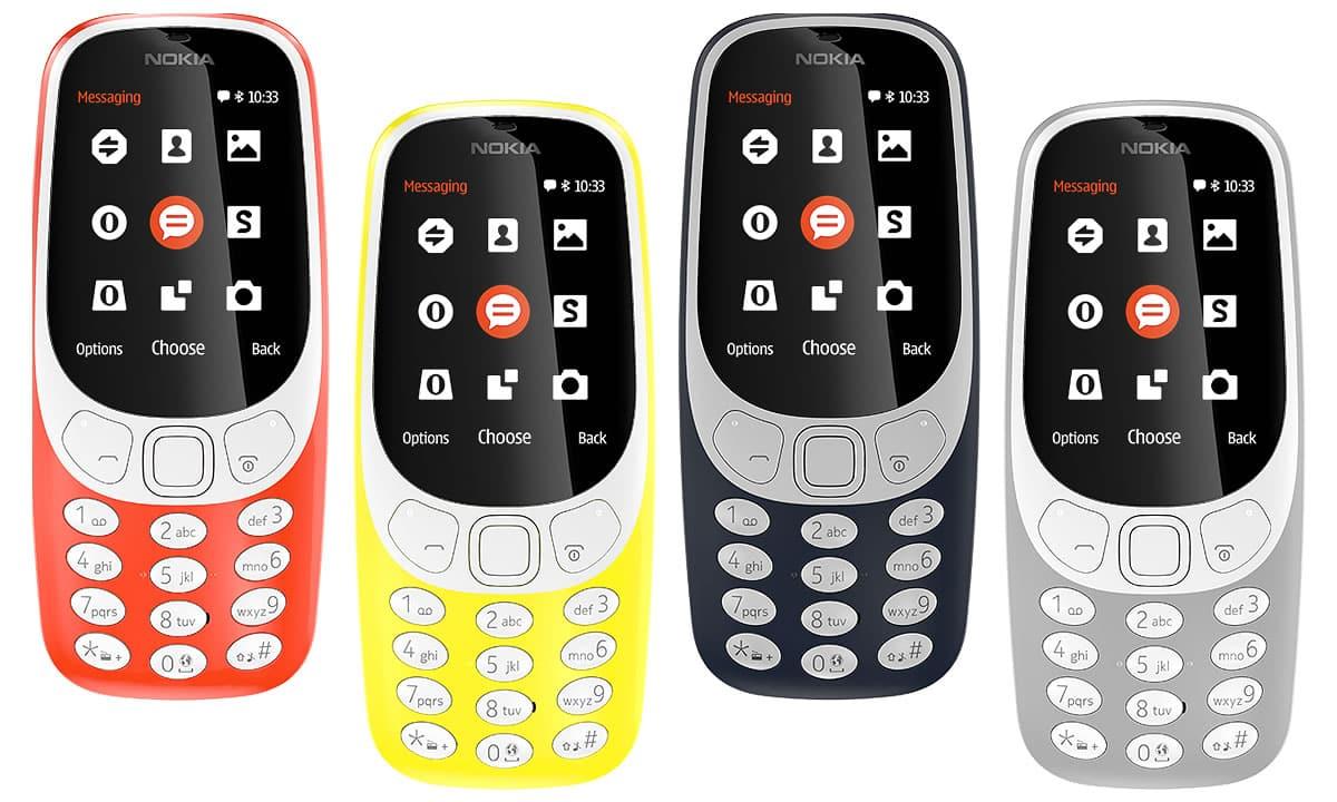 Comienza la venta del Nokia 3310 en Chile, la resurrección de un clásico