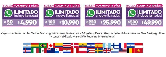WOM comenzará a ofrecer roaming internacional con WhatsApp ilimitado