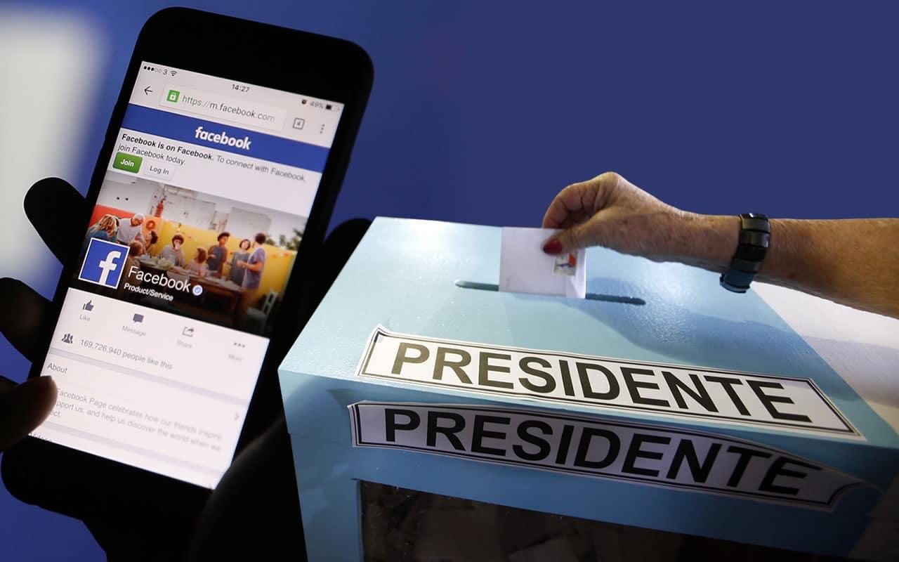 Resultado de imagen para facebook elecciones