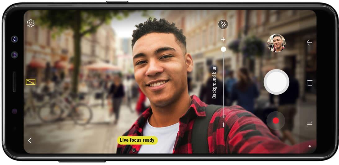 Con espionaje de Huawei incluido, Samsung lanzó su Galaxy A8 en Chile