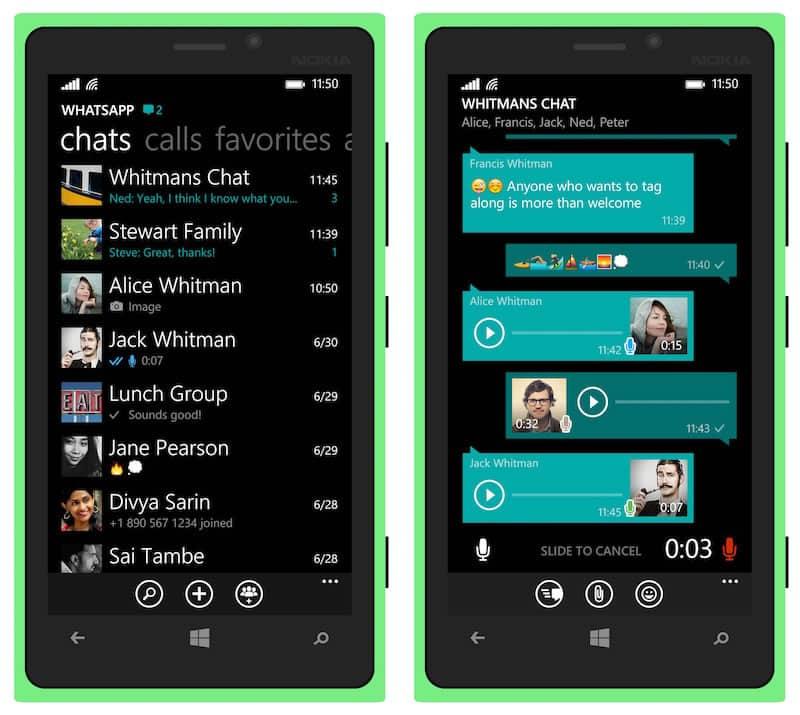 Estos son los teléfono que no tienen más WhatsApp desde Enero de 2018