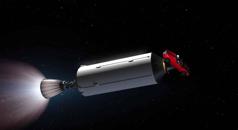 Animación muestra lo cool que será el lanzamiento del Falcon Heavy