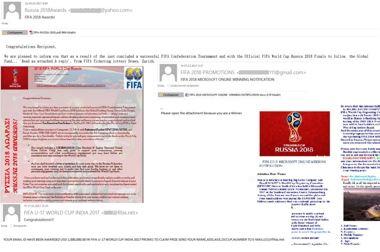 Mundial de fútbol en Rusia es uno de los términos más usados para estafar online