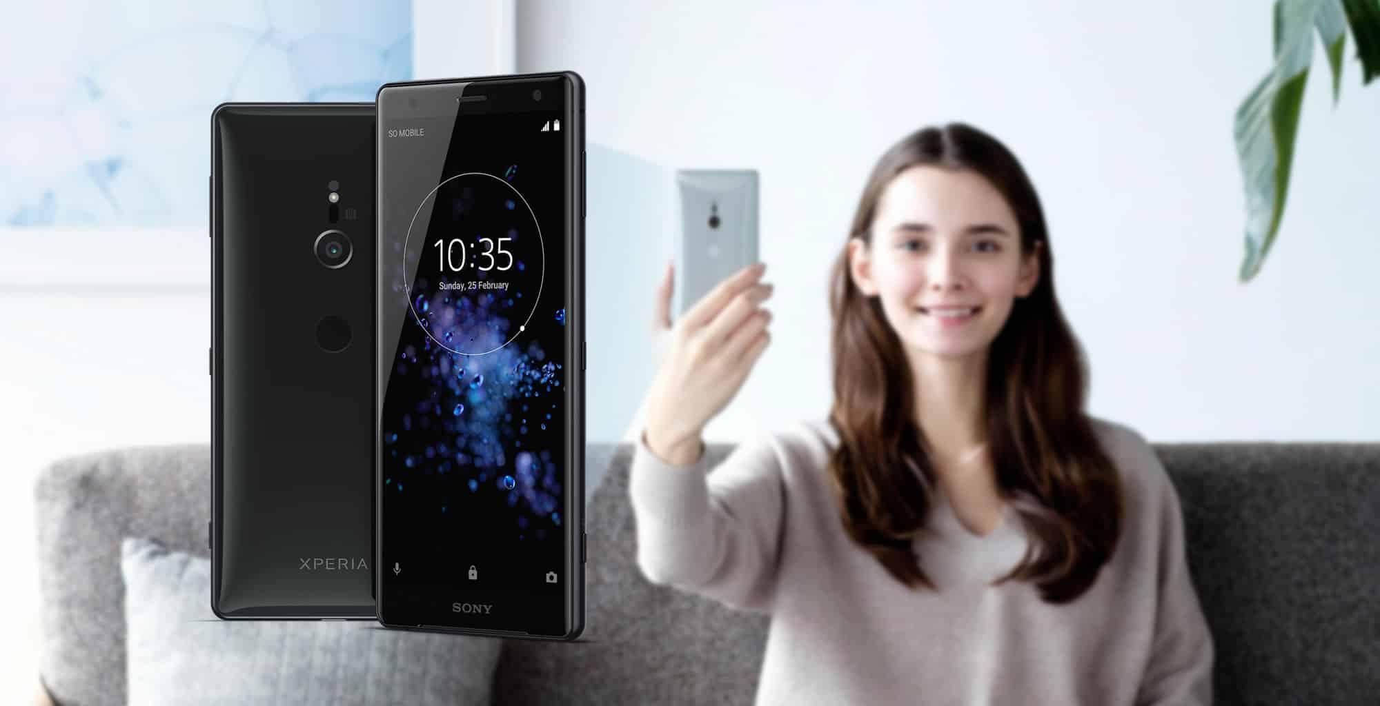 Sony presentó al Xperia XZ2 con grabación a 960 fps en 1080p