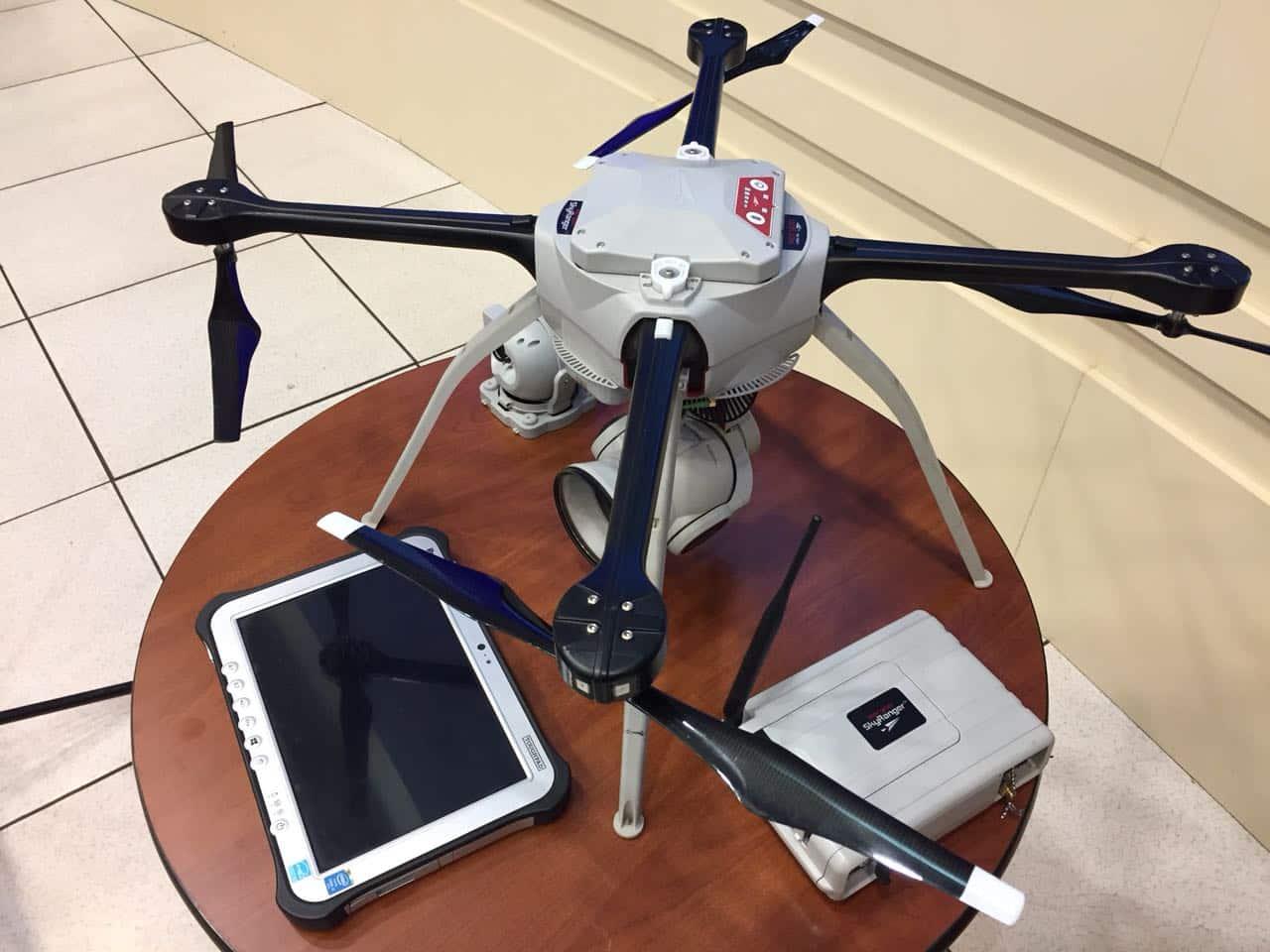 En Santiago se usarán drones para mejorar el control de tránsito vehicular