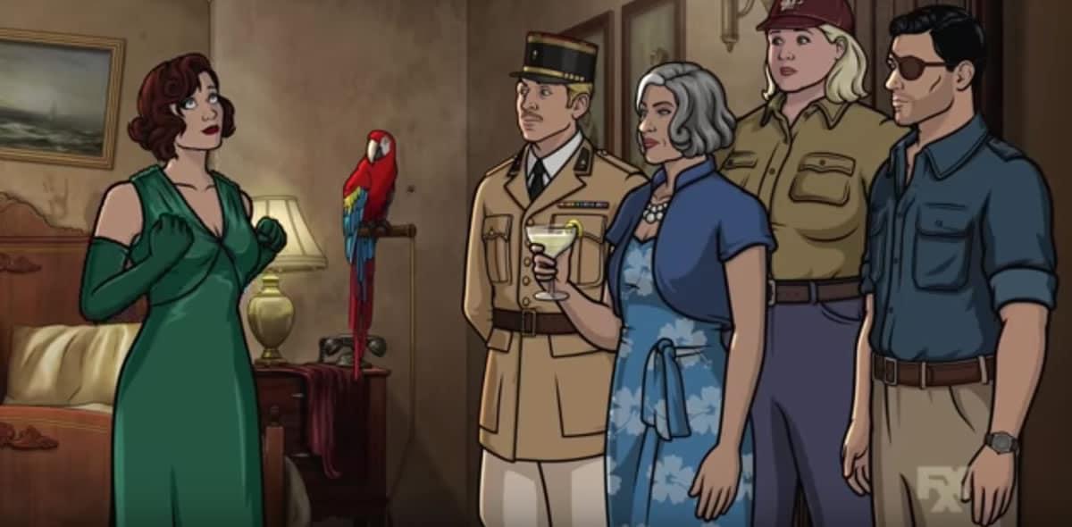 """Archer"" (Danger Island) presentó nuevo tráiler de su novena temporada"
