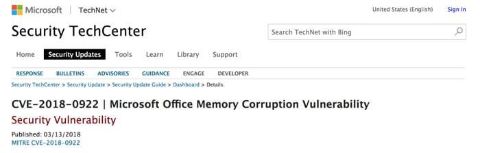 Fallas de seguridad en Microsoft Word permitían ejecutar códigos de forma remota