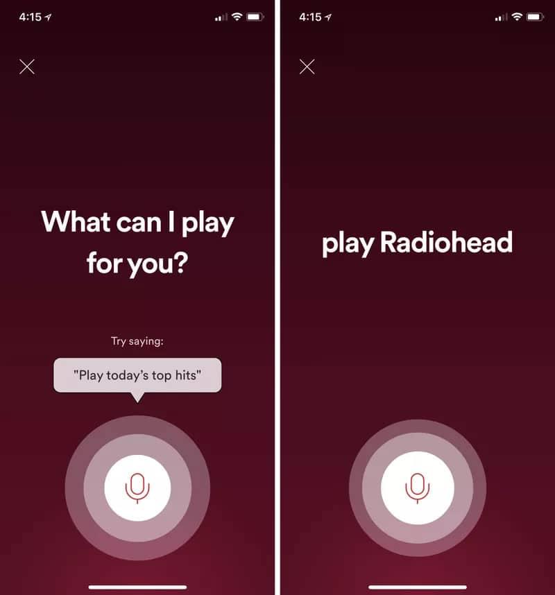 Spotify está probando su propio asistente de voz para su aplicación móvil