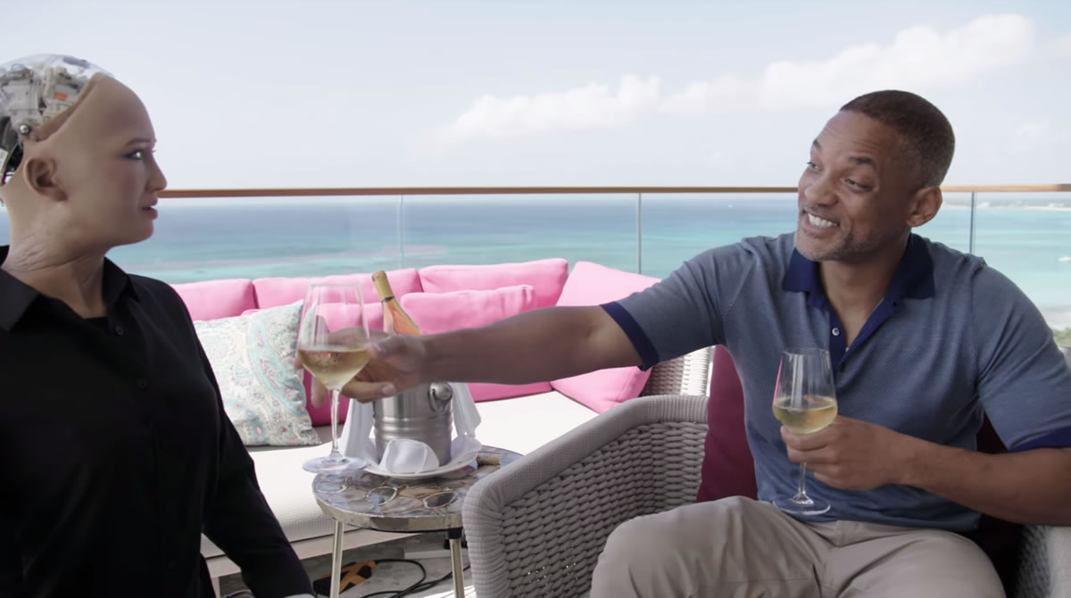 La robot Sophia friendzoneó a Will Smith en hilarante video
