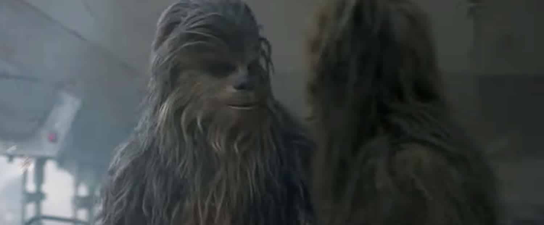 El nuevo tráiler de Solo: A Star Wars Story revela la edad de Chewbacca