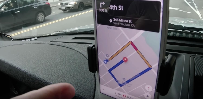 CEO de Uber, Dara Khosrowshahi, sufrió intentando ser chofer de Uber