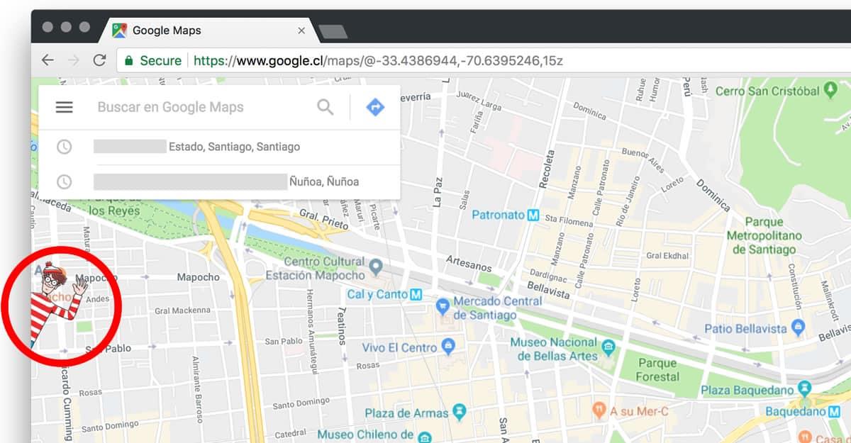 Cómo jugar a ¿Dónde está Wally? en Google Maps con tu equipo