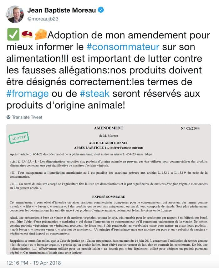 Francia prohibió llamar Hamburguesas a las que son Vegetarianas