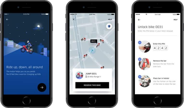 Uber entra al mercado del arriendo de bicicletas con la compra de Jump