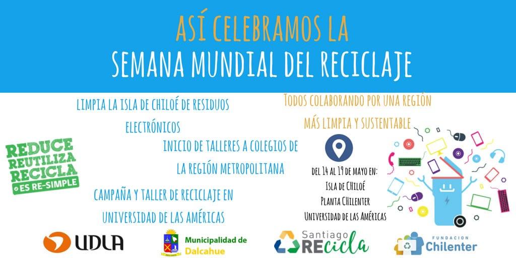 Realizarán talleres de reciclaje electrónico por la Semana Mundial del Reciclaje