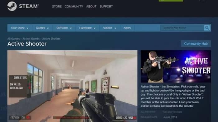 """¿Qué pasó con""""Active Shooter""""? El videojuego que simulaba tiroteos en escuelas"""
