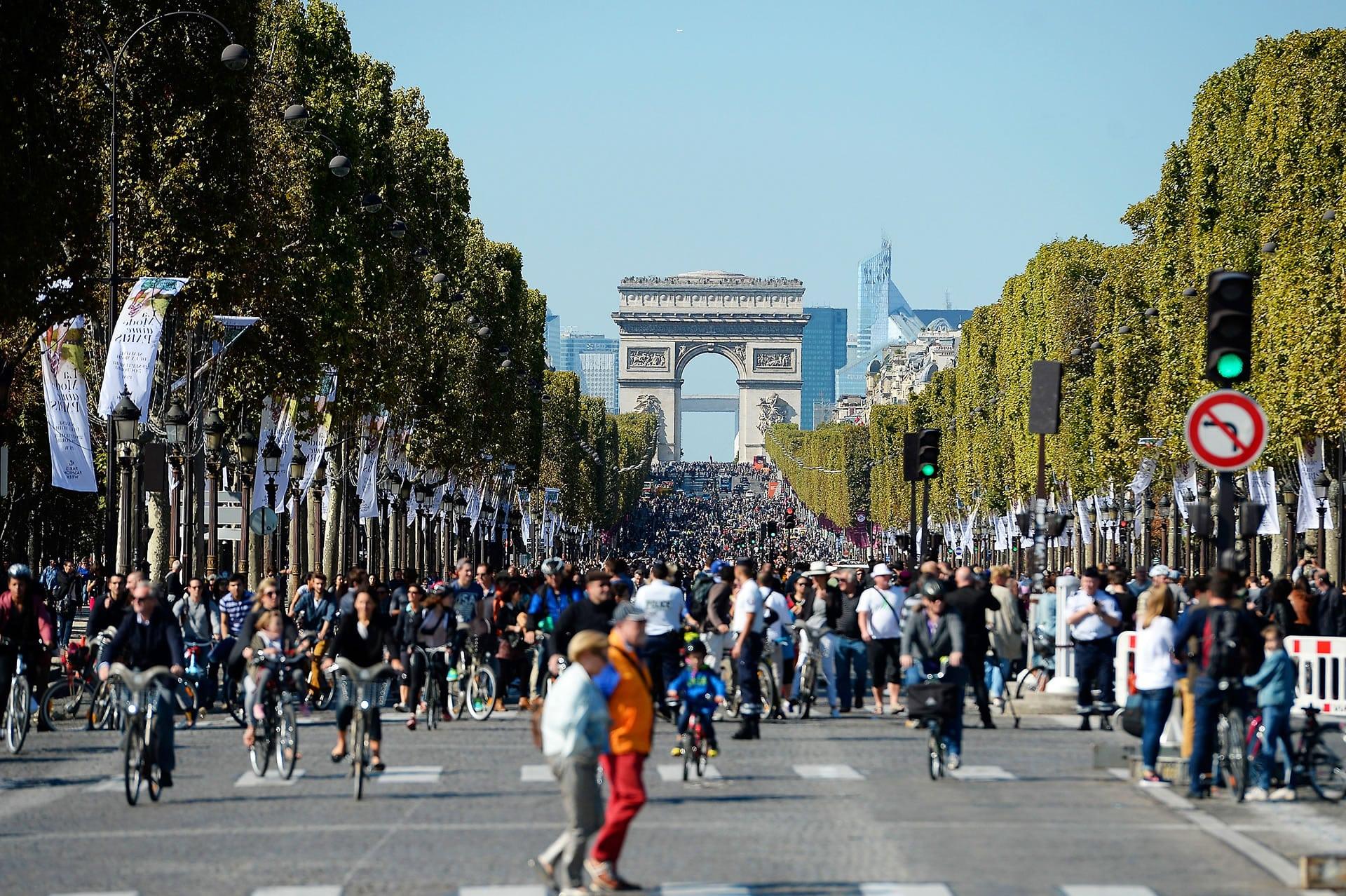 Día Mundial Sin Automóvil en Francia.