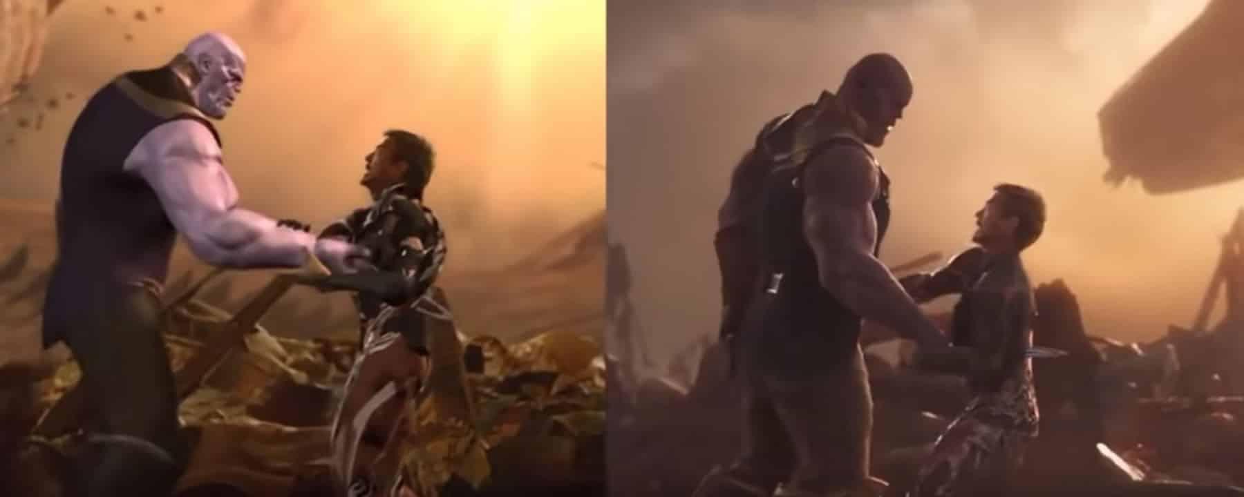 Video muestra el proceso de post-producción en la pelea contra Thanos
