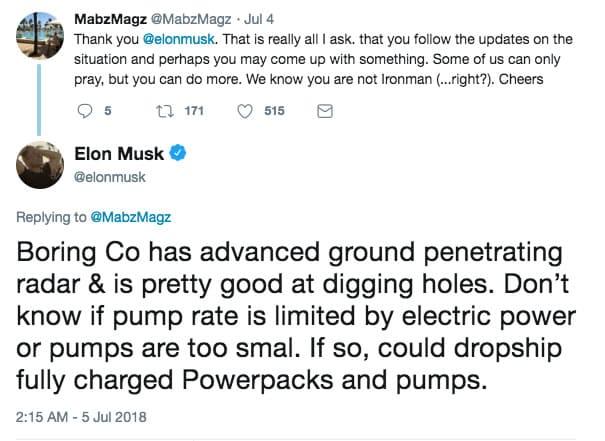 ¿Cómo Elon Musk podría ayudar a los niños atrapados en Tailandia?