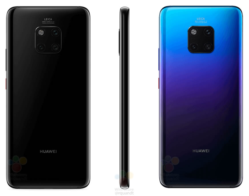 Filtran por completo al Huawei Mate 20 Pro en fotografías