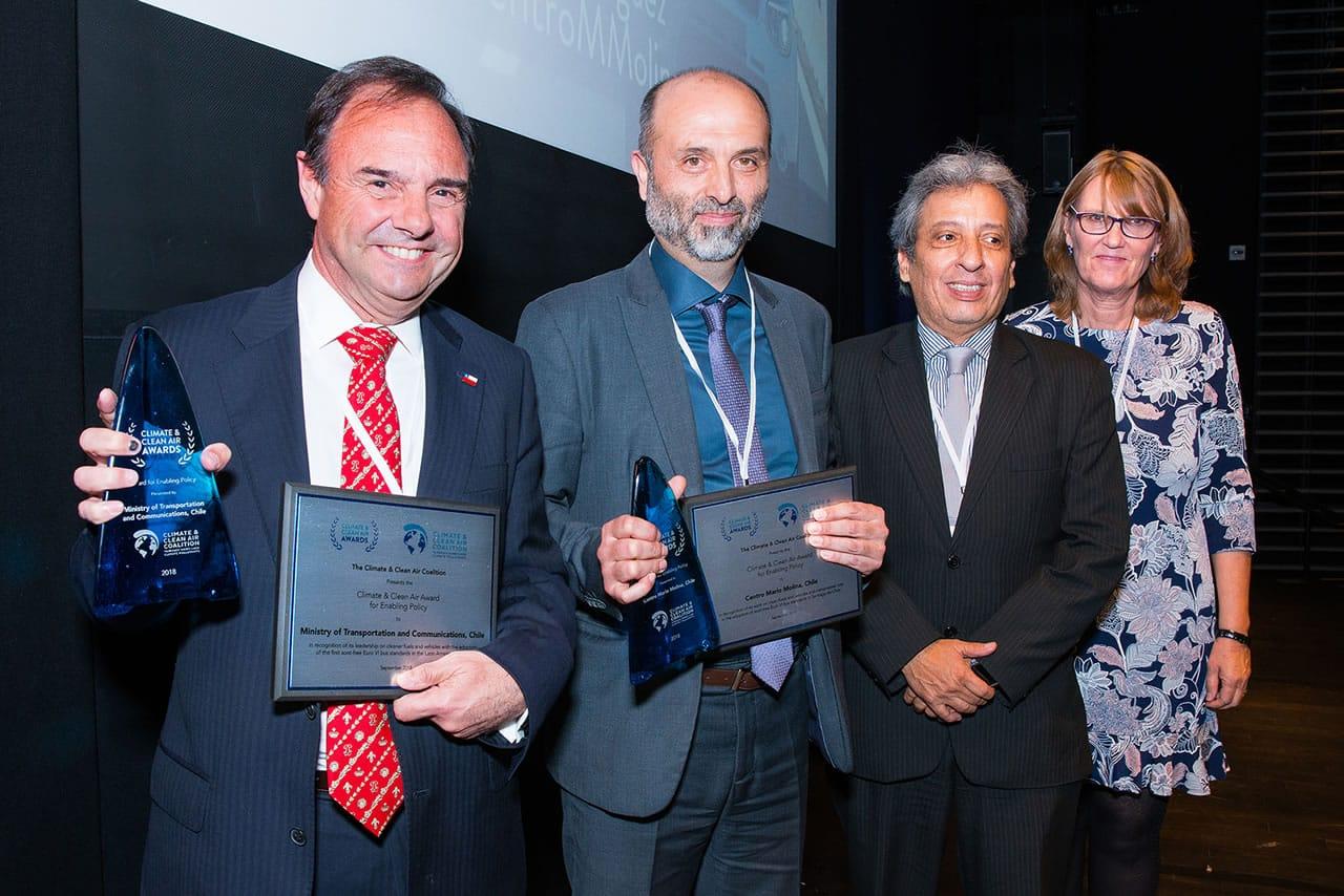 Transantiago recibió premio internacional y no, no fue por el servicio