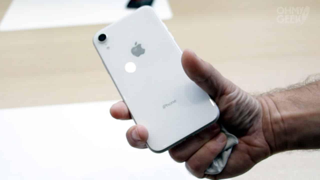 iPhone XR Blanco.