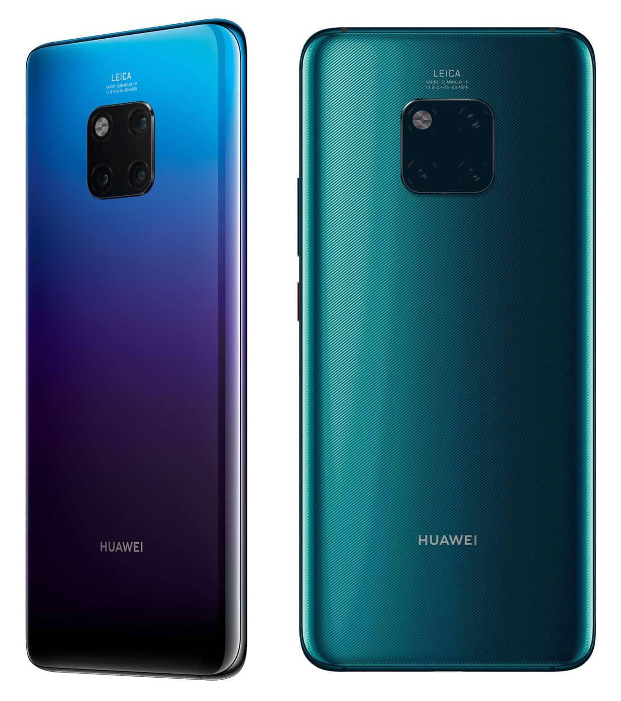 Estas compañías traerán el Huawei Mate 20 Pro a Chile