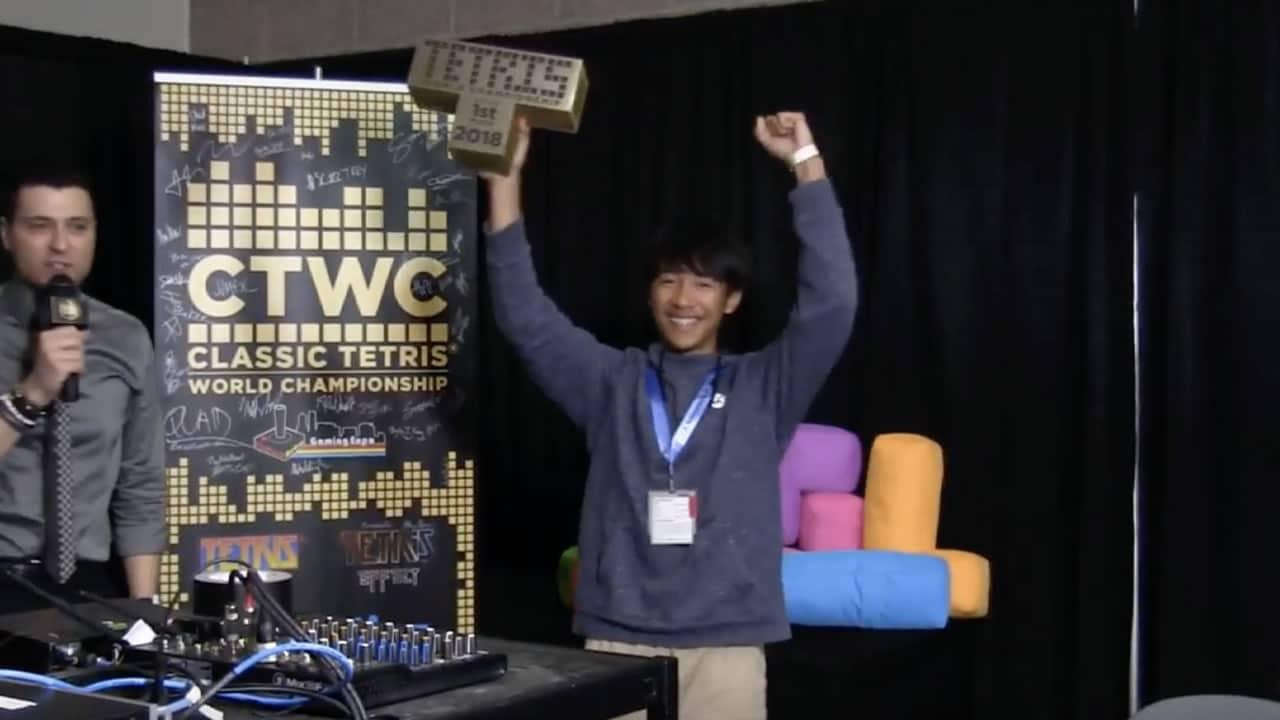 Mundial de Tetris tiene un nuevo campeón de 16 años