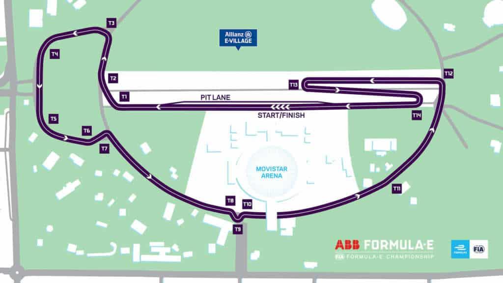 Así será el recorrido de la Fórmula E en Chile para el 2019