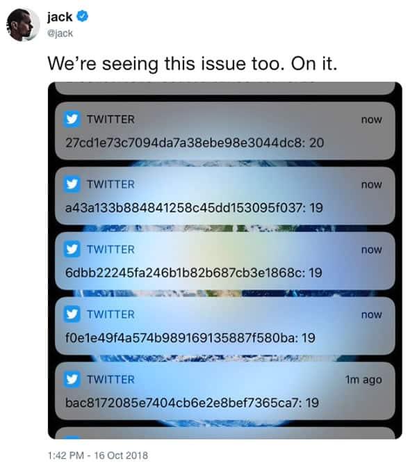 Investigan extraños códigos que reciben los usuarios de Twitter