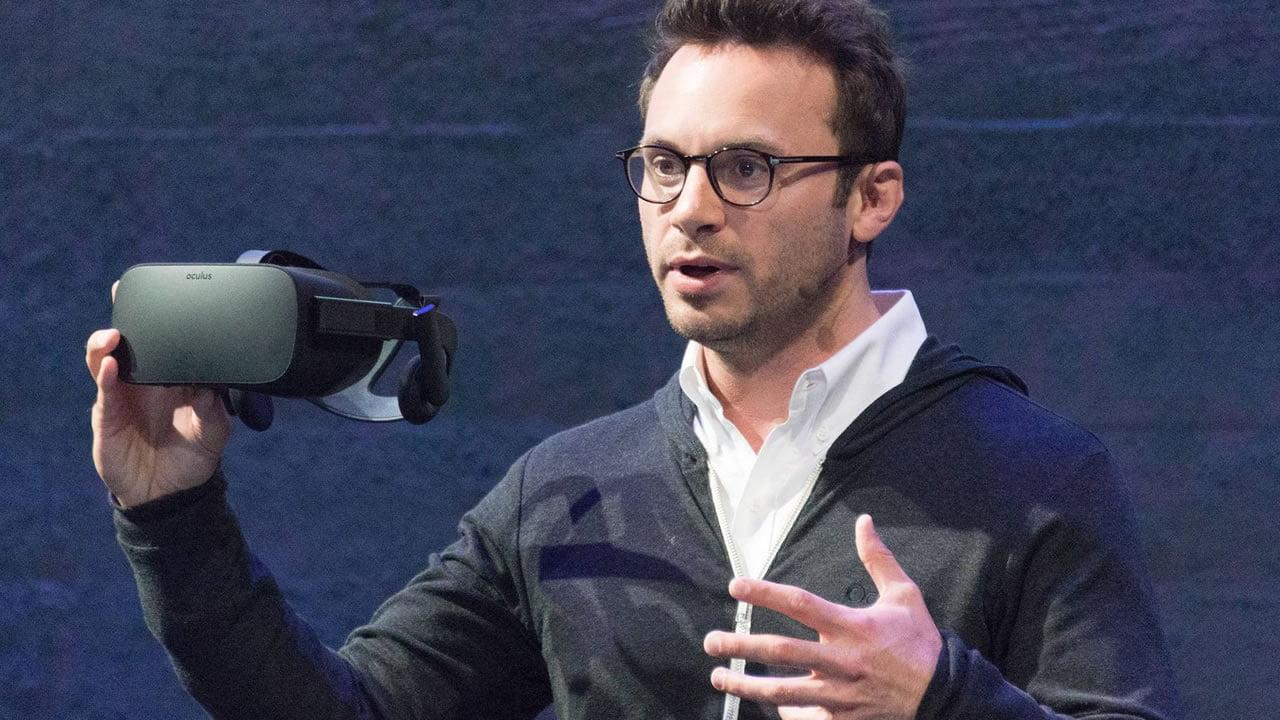 Brendan Iribe, cofundador de Oculus.