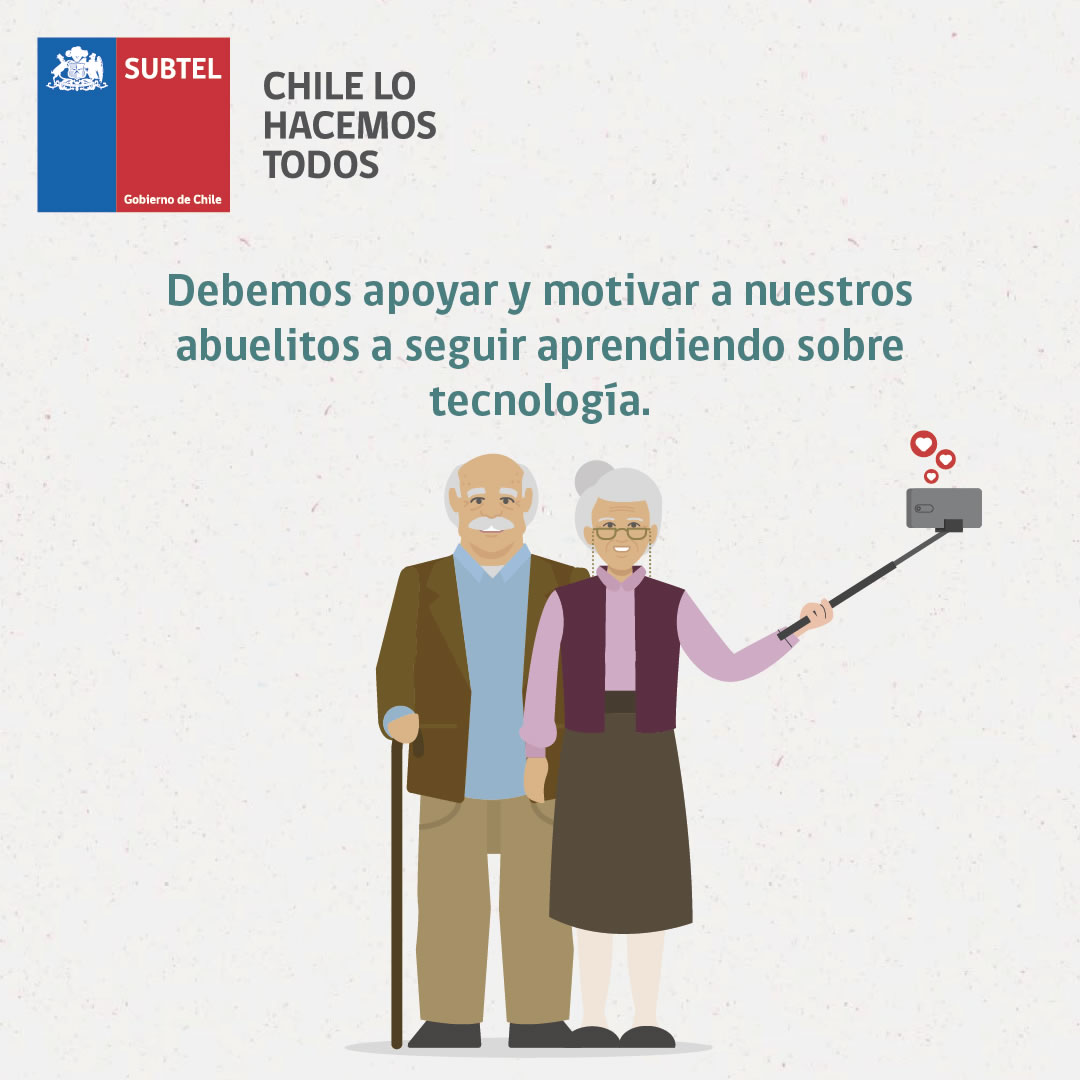 Campaña busca impulsar uso de tecnología en adultos mayores