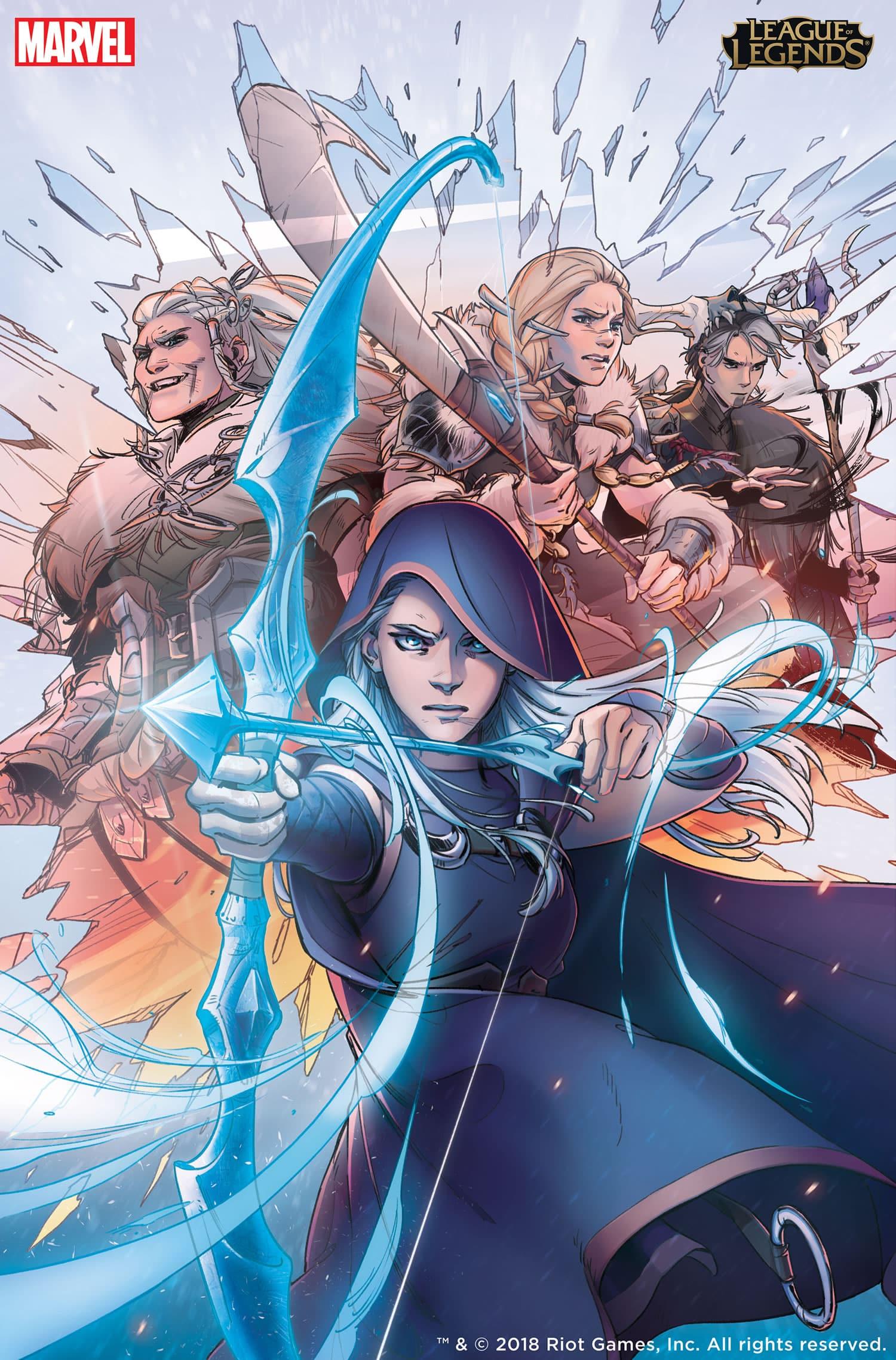 Marvel publicará cómics y novelas de League of Legends