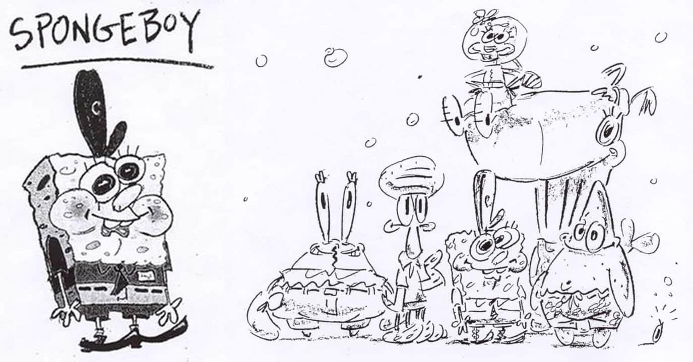 ¿Cómo eran los dibujos originales de Bob Esponja hechos por Stephen Hillenburg?
