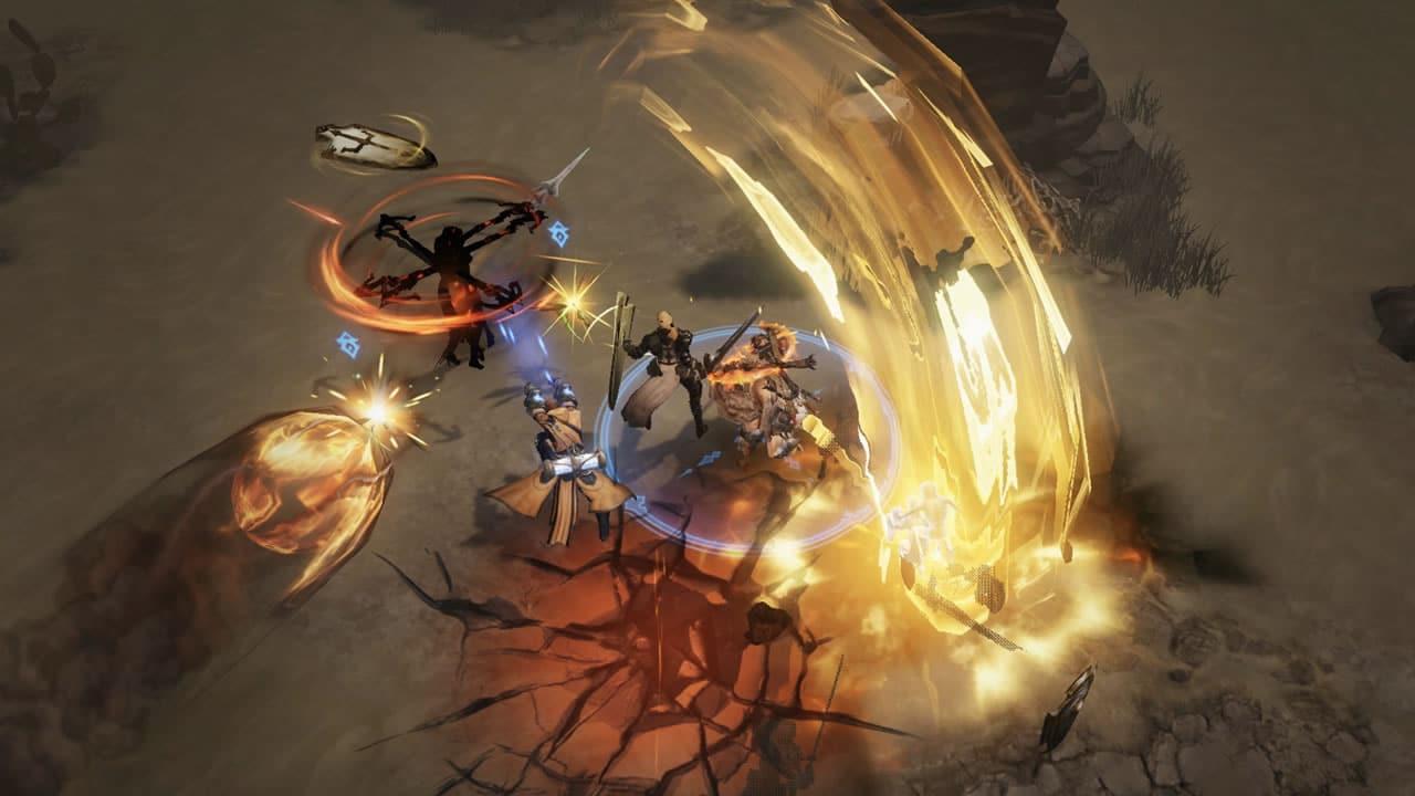 Gameplay de Diablo Inmortal.