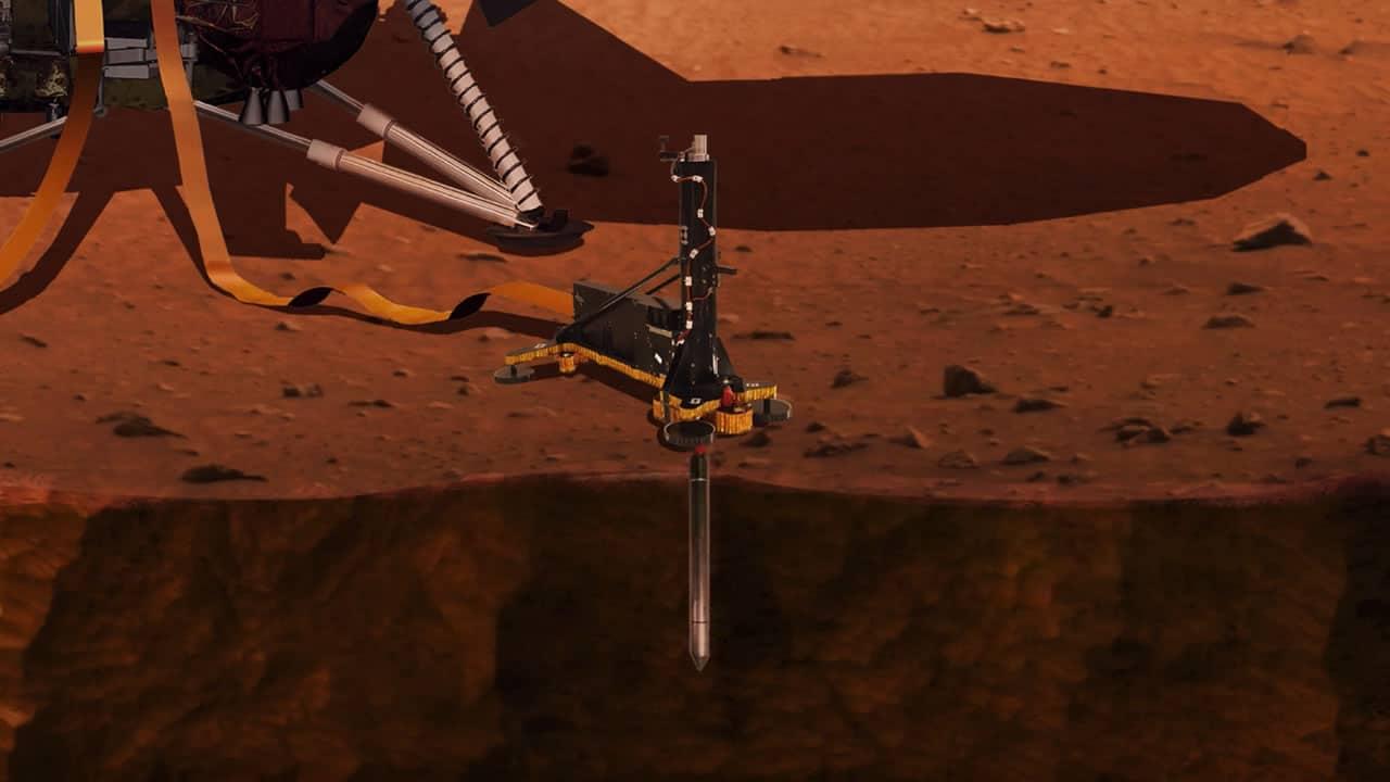 Sigue por streaming el aterrizaje de la sonda InSight en Marte