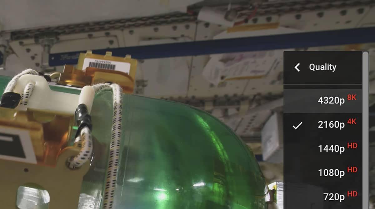 Este es el primer video grabado en 8K desde el espacio