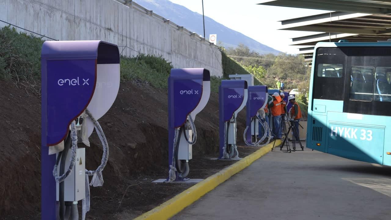 Chile está a punto de inaugurar el primer electroterminal de Latinoamérica