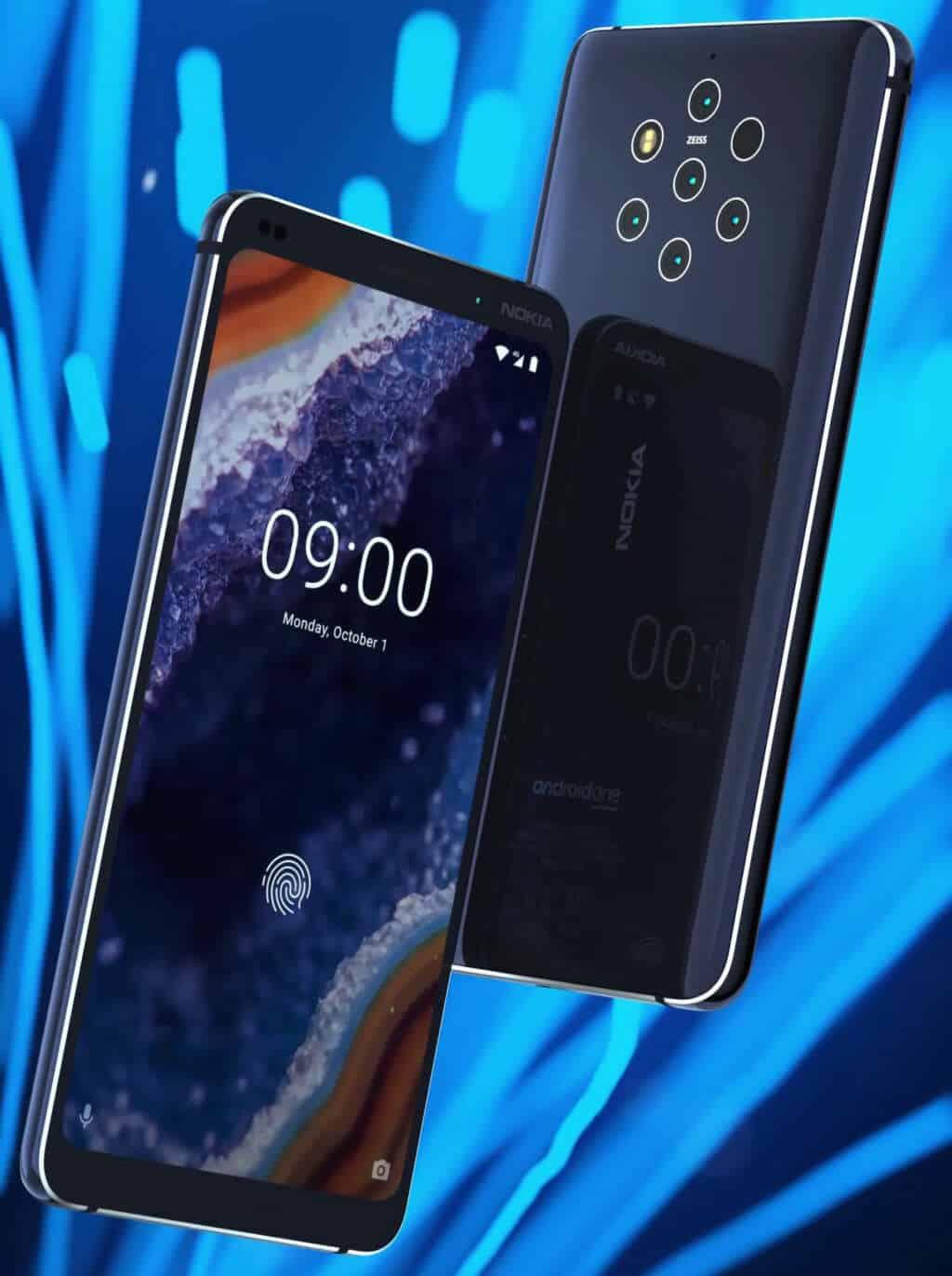 Nokia 9 PureView, el celular con cinco cámaras, se filtró por completo.