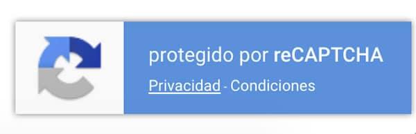 ¿Cómo quitar la placa (badge) de reCAPTCHA V3 en tu Web?