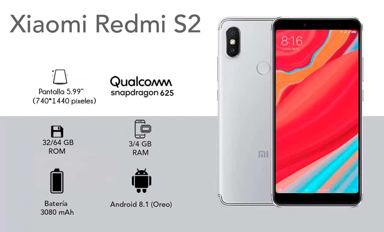 Redmi S2 en Chile: el primer celular Xiaomi que llega oficialmente al país