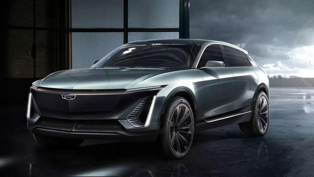 Cadillac presenta fotografías de su primer automóvil eléctrico.