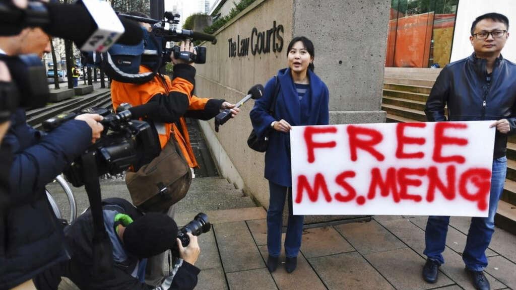 Huawei niega los cargos de su detenida vicepresidenta Meng Wanzhou.