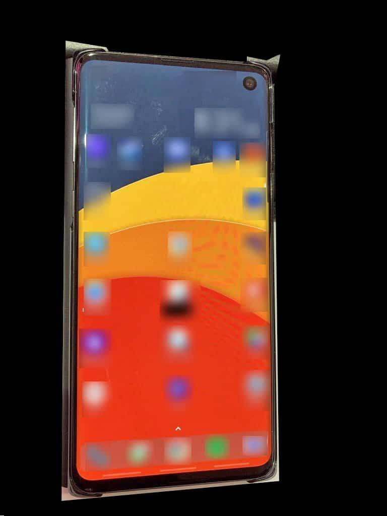 Filtran fotografía real de cómo será el próximo Galaxy S10.