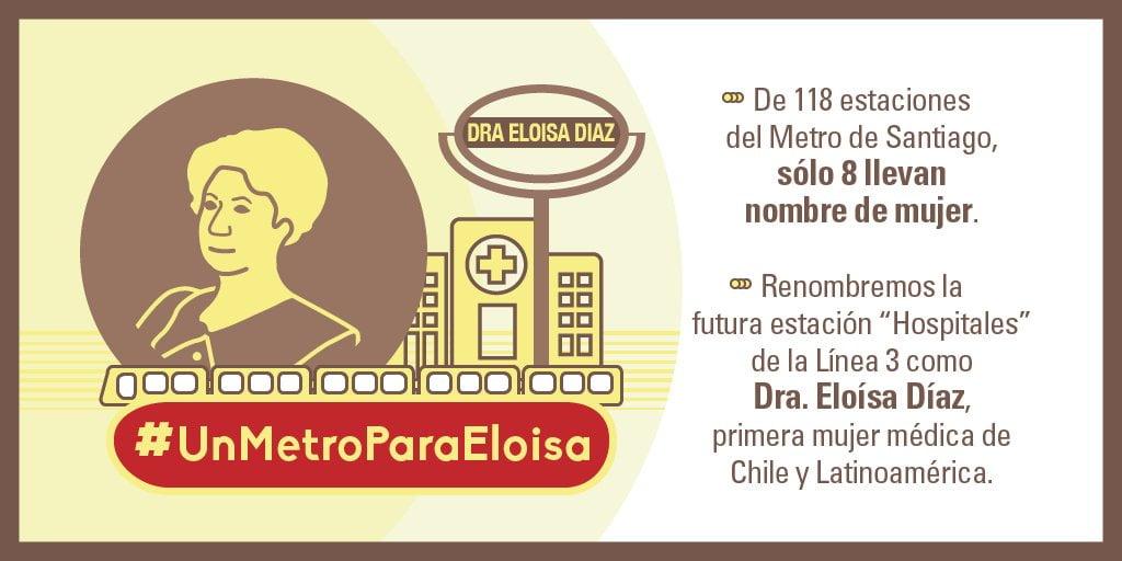 Imagen que acompaña la petición de una estación de metro para Díaz.